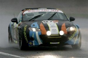 MX-5 stands ground against performance cars