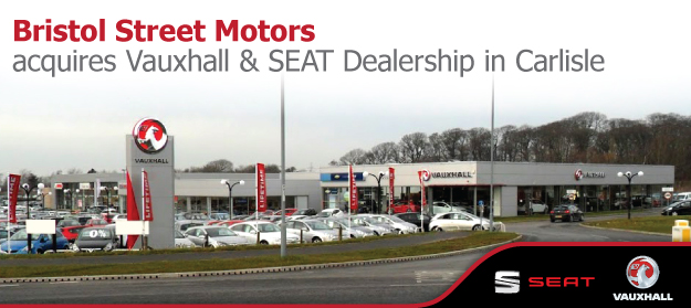 New bristol street motors dealership in carlisle for Bristol motor mile dealerships