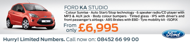 Ford Ka Studio Offer - Hartlepool