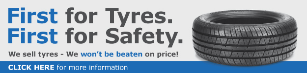 First For Tyres - First For Safety