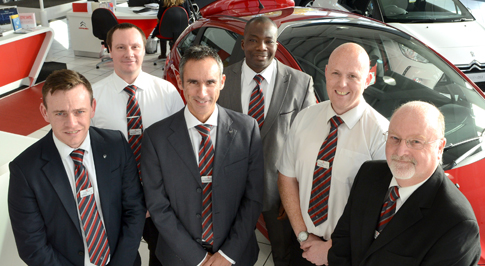 Citroen Leicester introduces new team
