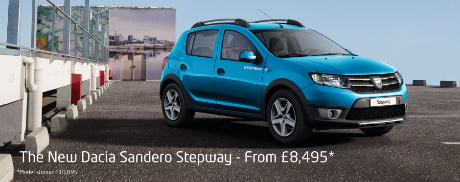 dacia sandero stepway deals new dacia sandero stepway for sale bristol street. Black Bedroom Furniture Sets. Home Design Ideas