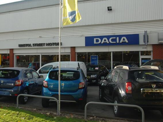 New And Used Dacia Duster In Derby Bristol Street Motors