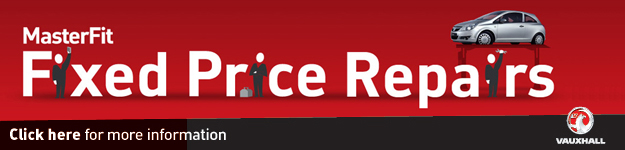 Vauxhall Fixed Prices Repairs