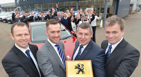 Golden Lion Award for Peugeot Banbury