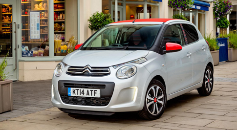 New Citroen C1 now available to order in the UK