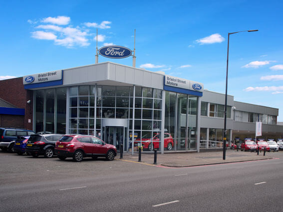 Ford birmingham uk dealers for Bristol motor mile dealerships