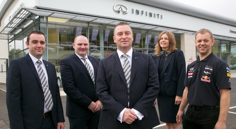 Infiniti Centre Newcastle introduces new team