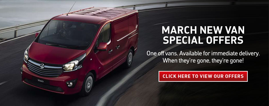 Vauxhall Van Manager Specials