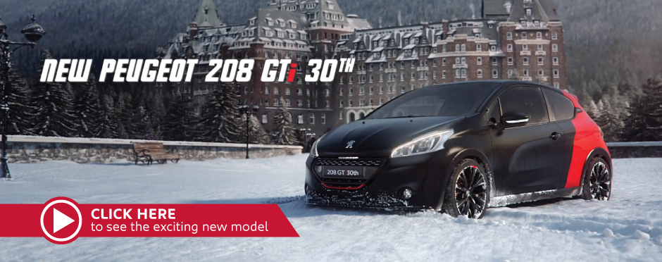Introducing Peugeot 208 GTi 30th