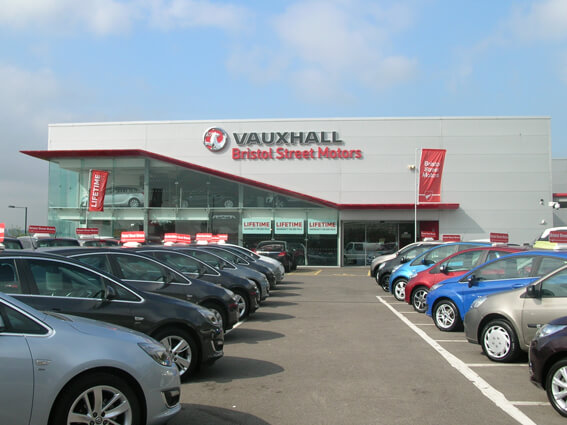 Vauxhall newcastle vauxhall dealers in newcastle upon for Bristol motor mile dealerships