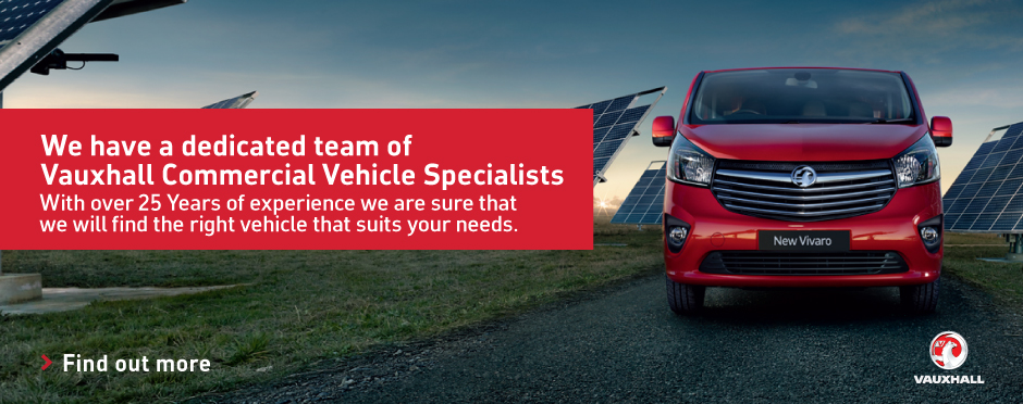 Vauxhall Commercial Vehicles Sales Specialists