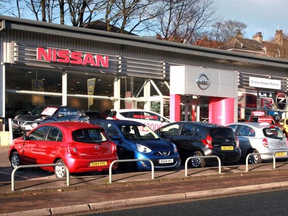 Nissan Halifax Nissan Dealers In Halifax Bristol Street