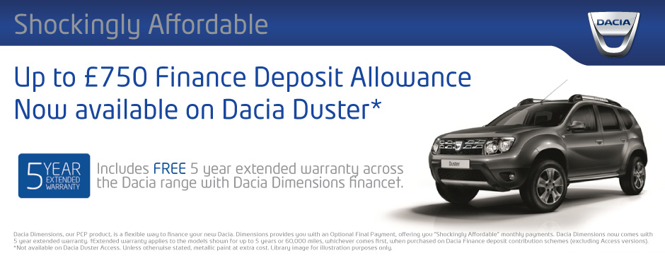 Dacia Duster FDA Offer