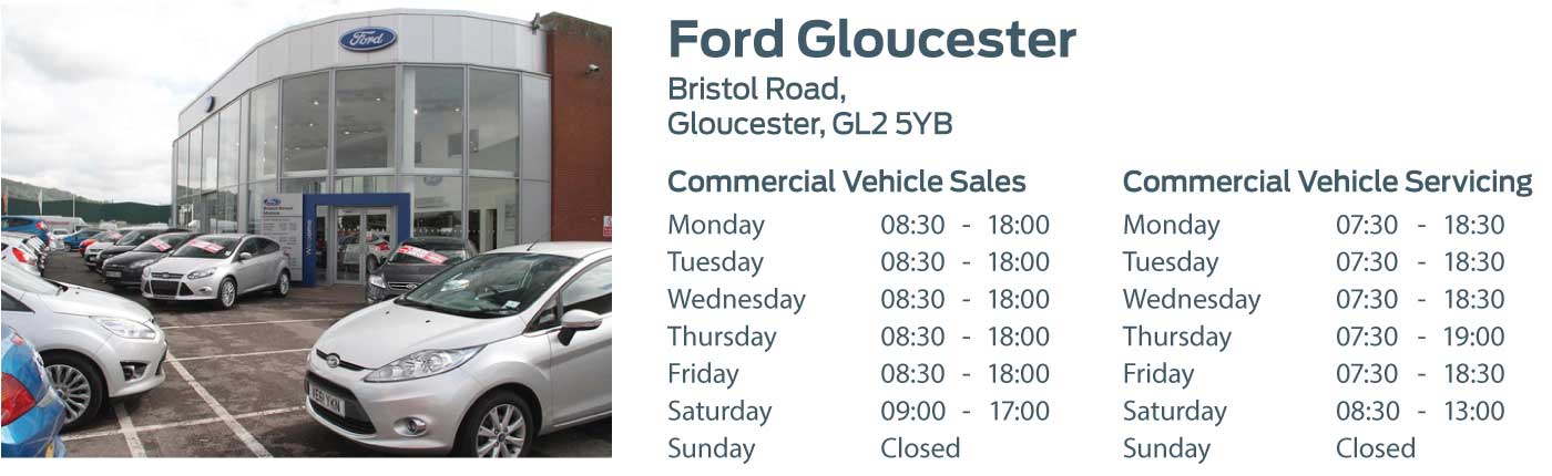 Ford Transit Centre - Locations - Gloucester