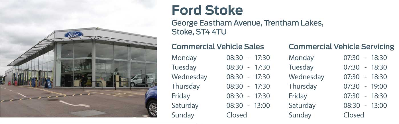 Ford Transit Centre - Locations - Stoke