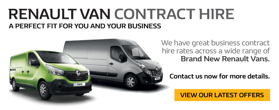 Renault Van Contract Hire