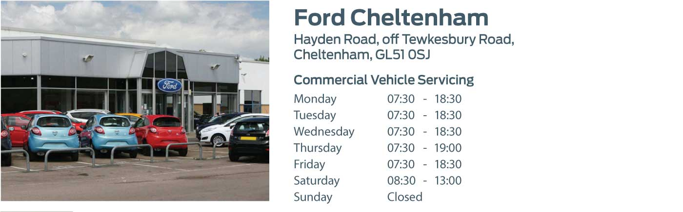 Ford Transit Centre - Locations - Cheltenham