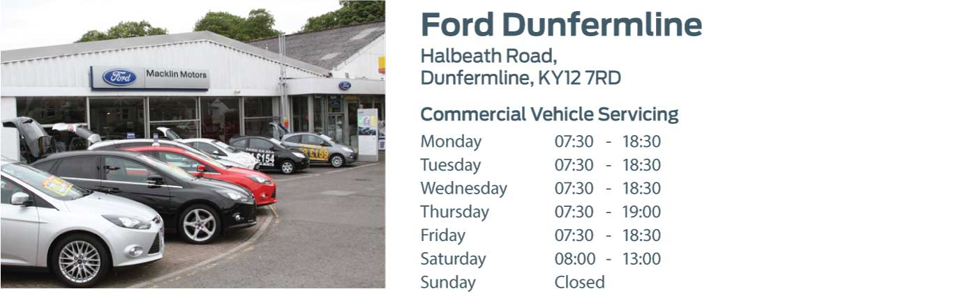 Ford Transit Centre - Locations - Dunfermline