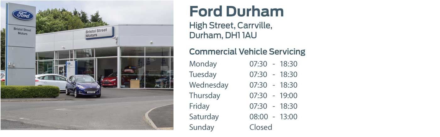 Ford Transit Centre - Locations - Durham