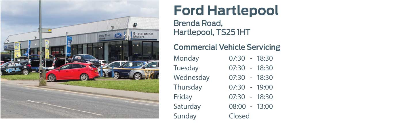 Ford Transit Centre - Locations - Hartlepool