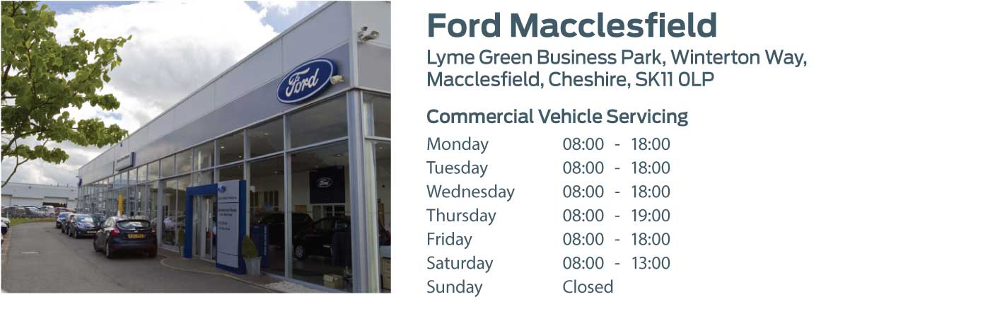 Ford Transit Centre - Locations - Macclesfield