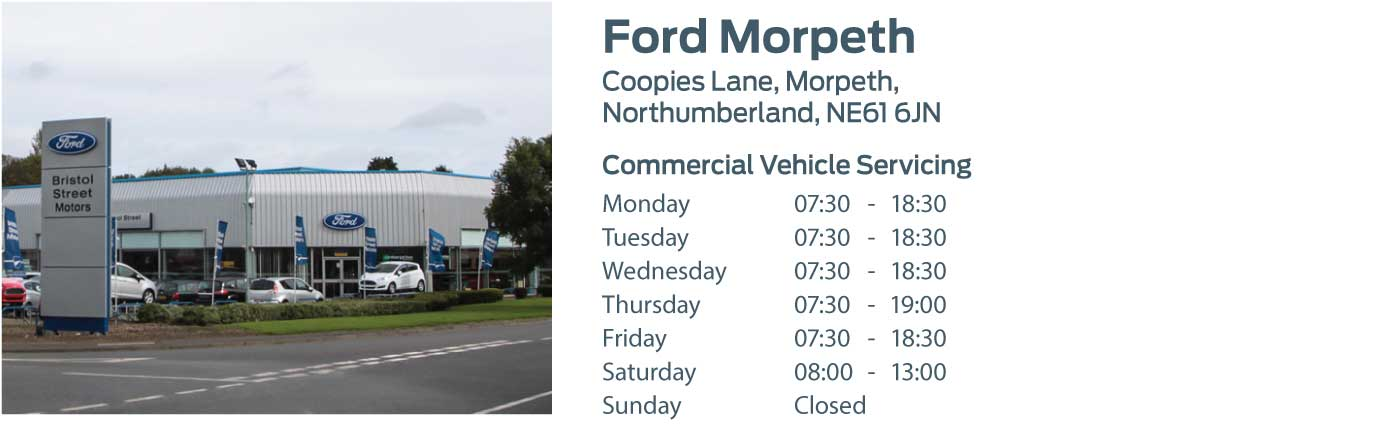 Ford Transit Centre - Locations - Morpeth
