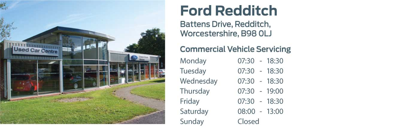 Ford Transit Centre - Locations - Redditch