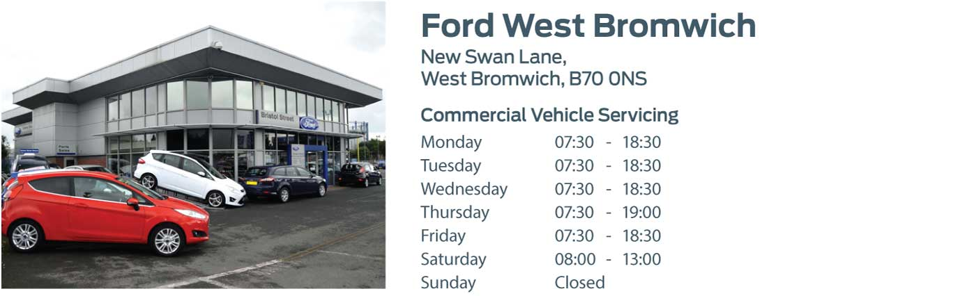 Ford Transit Centre - Locations - West Bromwich