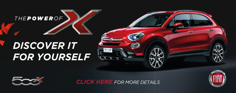 Fiat 500X Discover