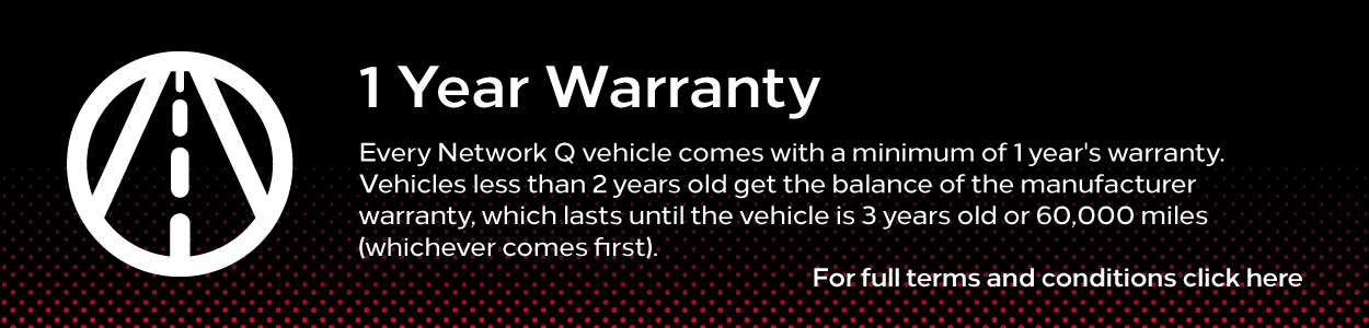 Network Q - 1 Year Warranty