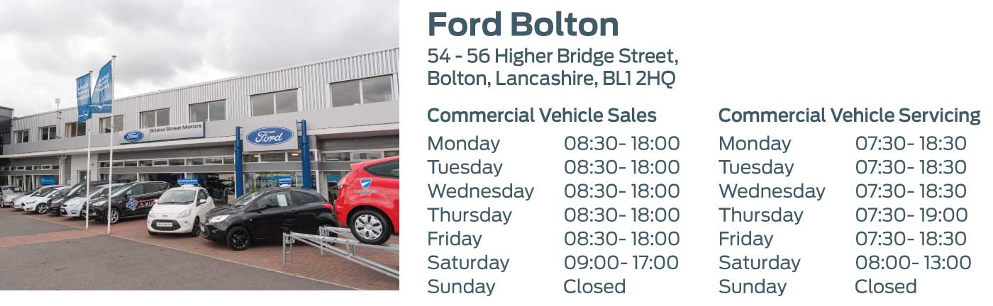 Ford Transit Centre - Locations - Bolton