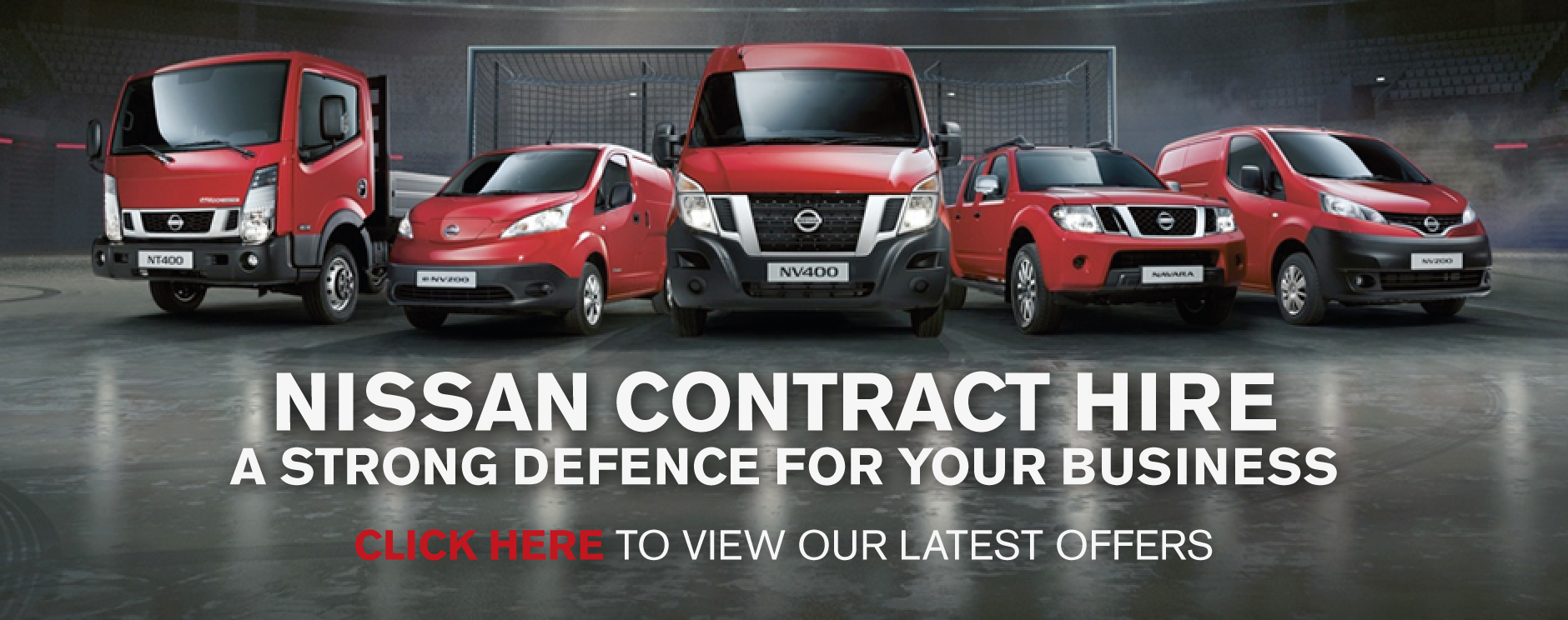 Nissan Van Contract Hire
