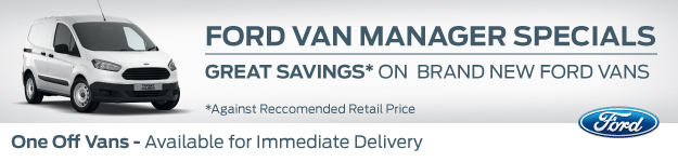 Ford Van Manager Specials