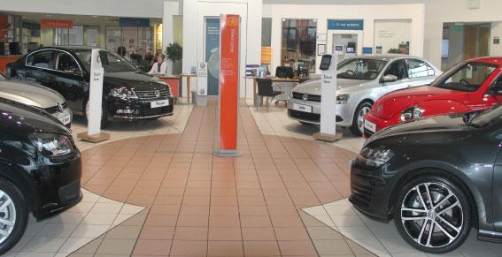Volkswagen Nottingham South Volkswagen Dealers In