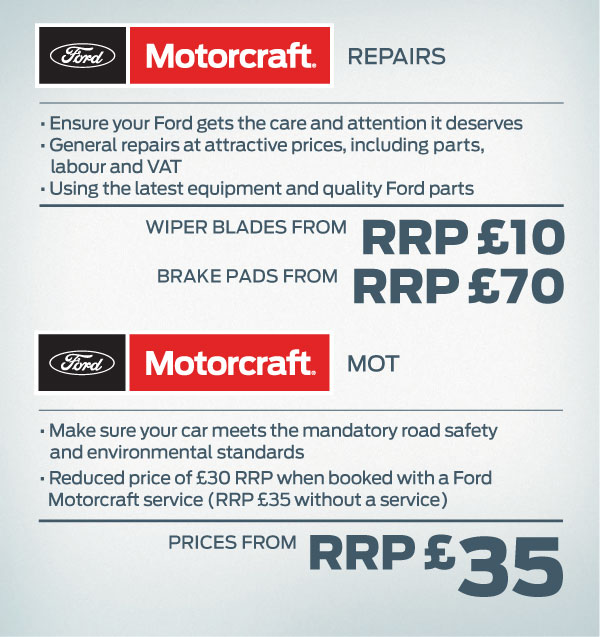 Ford Motorcraft 4+ Van Offers