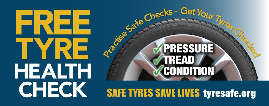 Free Tyre Health Check October Event
