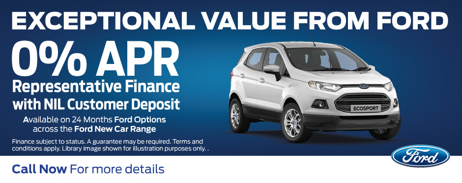 Ford 0% APR - Ford Aquire Offer