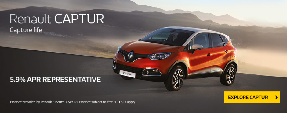 Renault Captur 5.9% BB