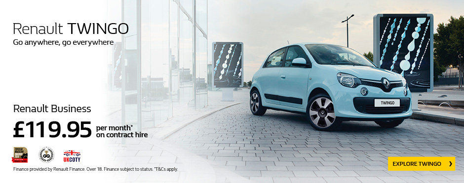 Renault Twingo Fleet Offer