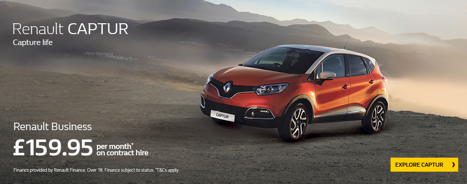 Renault Captur Fleet Offer