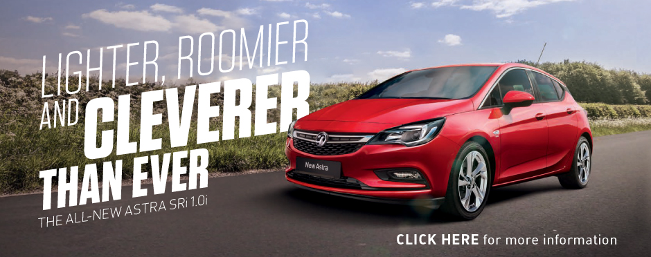 The All New Vauxhall Astra