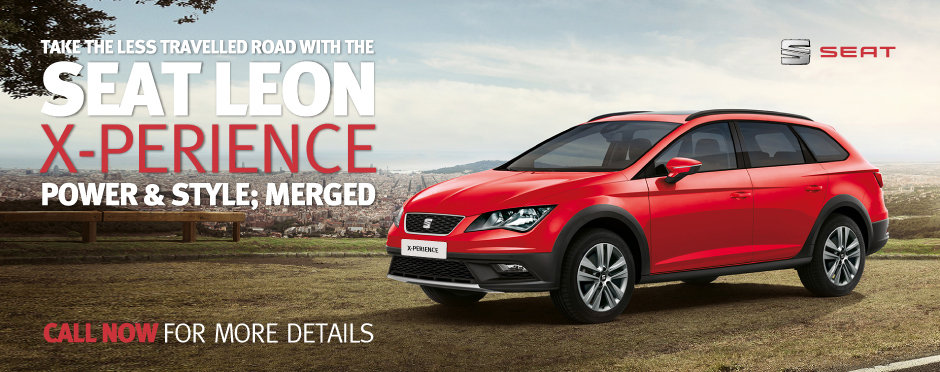 Seat Leon X-Perience Lifestyle Banner