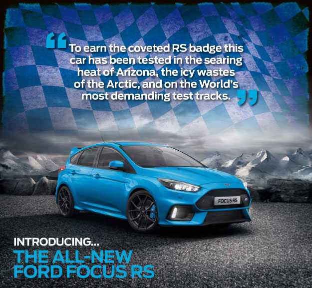 All-New Ford Focus RS