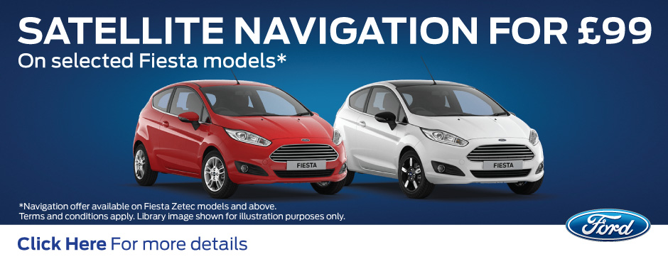 Ford Fiesta Sat Nav Offer