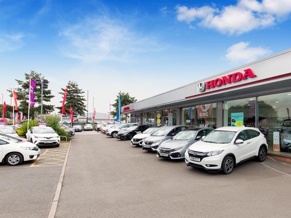 Honda Derby Honda Dealers In Derby Bristol Street