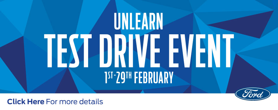 Ford Unlearn Test Drive Event