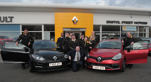 Renault Nottingham becomes sports specialist