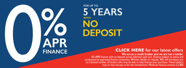5 Years 0% APR Offers - BSM