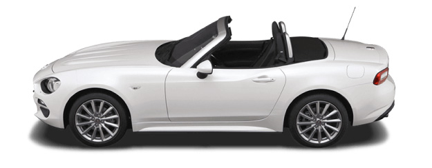 Fiat Spider Side View